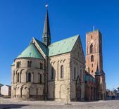 Cathedral in Ribe, Denmark — Stock Photo