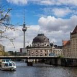Постер, плакат: Museum island on Spree river Berlin Germany