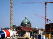 Construction site  in the center of Berlin, Germany — Stock Photo