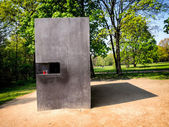 Memorial to Homosexuals Persecuted Under Nazism in Berlin, Germa — Stock Photo