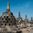 Stock Photo: Borobudur Stupa