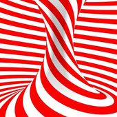 Red and white abstract background — Stock Photo
