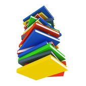 Book stack. — Stock Photo