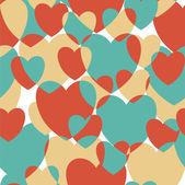 Vintage harten. — Stockvector