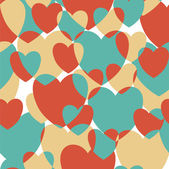 Vintage hjärtan. — Stockvektor