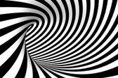 Abstract swirl black and white background — Stock Photo