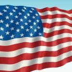 American flag — Stock Photo #43731285