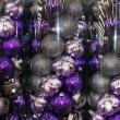 Shiny Christmas decoration balls — Stock Photo