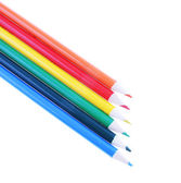 Colorful pencils isolated on white background — ストック写真