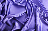 Blue silk background — Stock Photo