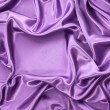 Violet silk drape, background with copy space — Stockfoto