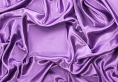 Violet silk drape, background with copy space — Stock Photo