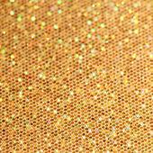 Bokeh. zlaté vánoční blikající pozadí — Stock fotografie