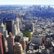 New York City, Manhattan Skyline aerial panorama view with skyscrapers. — Стоковая фотография