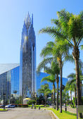 Crystal Cathedral is a church building in Garden Grove, Orange County, California, USA — Foto de Stock