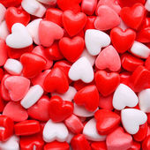 Heart Candy background. Valentine's Day — Foto de Stock