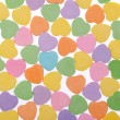 Colorful Hearts. Sweetheart Candy. Valentines Day background — Zdjęcie stockowe #40129753