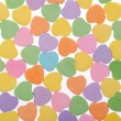 Colorful Hearts. Sweetheart Candy. Valentines Day background — Stock Photo