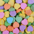 Colorful Hearts background. Sweetheart Candy. Valentines Day — Stock Photo #40129777