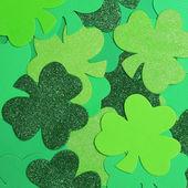 St. Patrick's Day. Shamrock background — Stock Photo