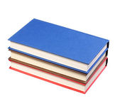 New Colorful Books isolated on white — ストック写真