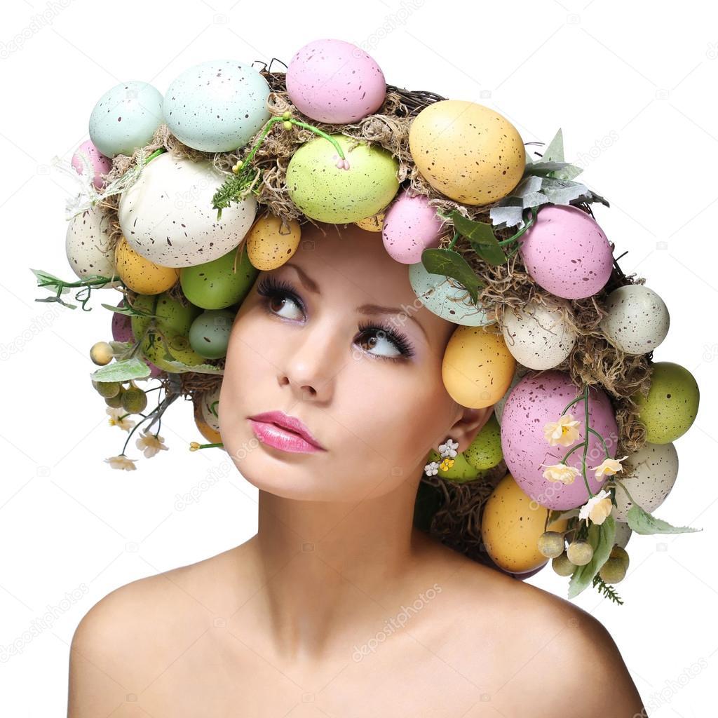 Фото девушка яйца 1 фотография