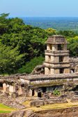 Palenque, Chiapas, Mexico. The Palace Observation Tower — Stock Photo