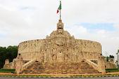 Merida. Monument to the Fatherland, Yucatan, Mexico — Stock Photo