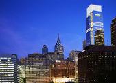 Filadelfia w nocy — Zdjęcie stockowe