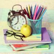 School Supplies isolated — Stock Photo #51786387