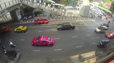 Traffic in Bangkok — Stock Video