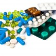 Lot of colorful pills - Stock Photo