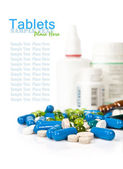 Tablets and pills — Stock Photo