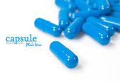 Capsule close up — Stock Photo