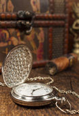Vintage pocket watch — Stockfoto
