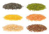 Conjunto de feijão indiano — Foto Stock