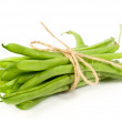 Bunch of green beans — Stock Photo