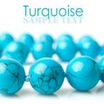 Turquoise close-up — Stock Photo #37695247