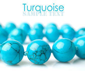 Turquoise close-up — Stock Photo