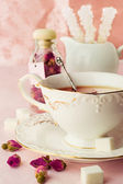 Tea Party in Shabby Chic style — Stock Photo
