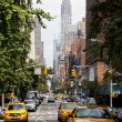 Traffic in Gramercy section of New York - Stock Photo