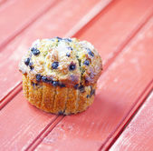 Borůvkový muffin — Stock fotografie