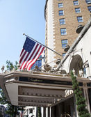 The Famous Mayflower Hotel — Stock Photo