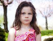 Dışarıda kızgın çocuk parkı — Stok fotoğraf