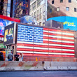 NYC times Square flag — Stock Photo #47496023