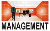 Management 3D — Stock Photo