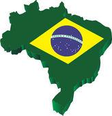 Brazil Green — Stock Vector