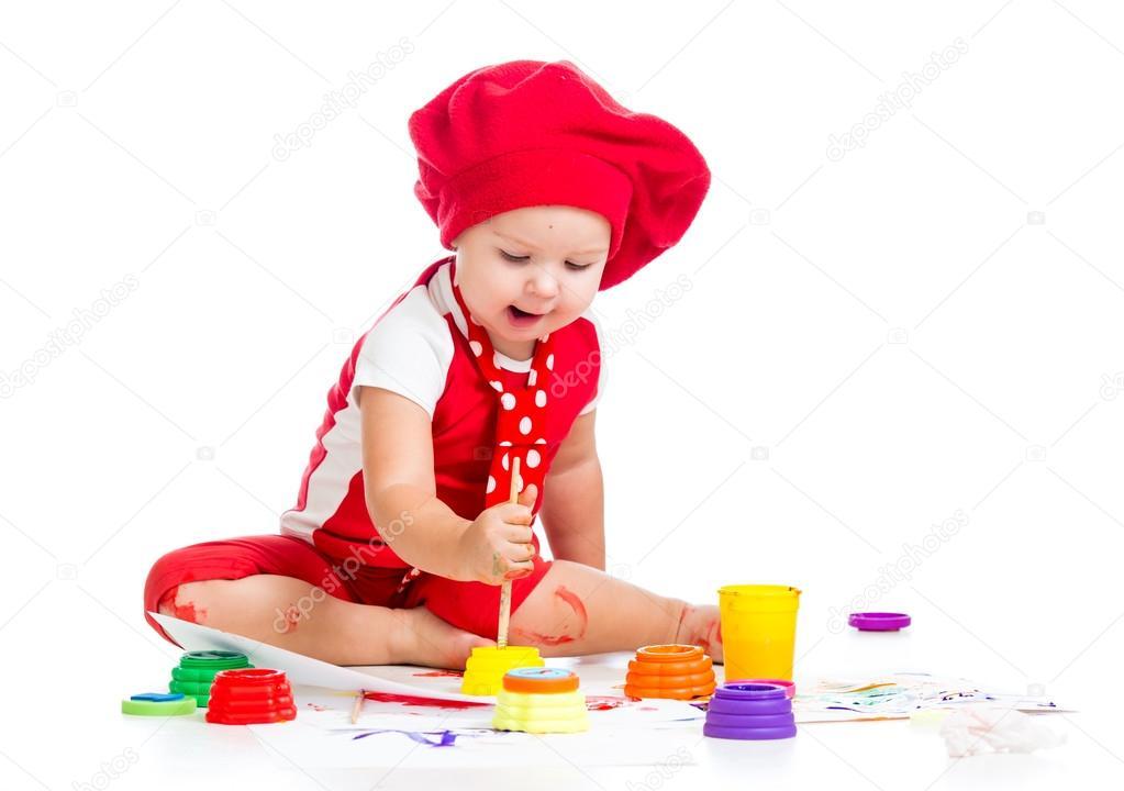Берет художника детский