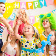 Children celebrating — Stock Photo
