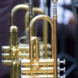 Stock Photo: Trumpet background